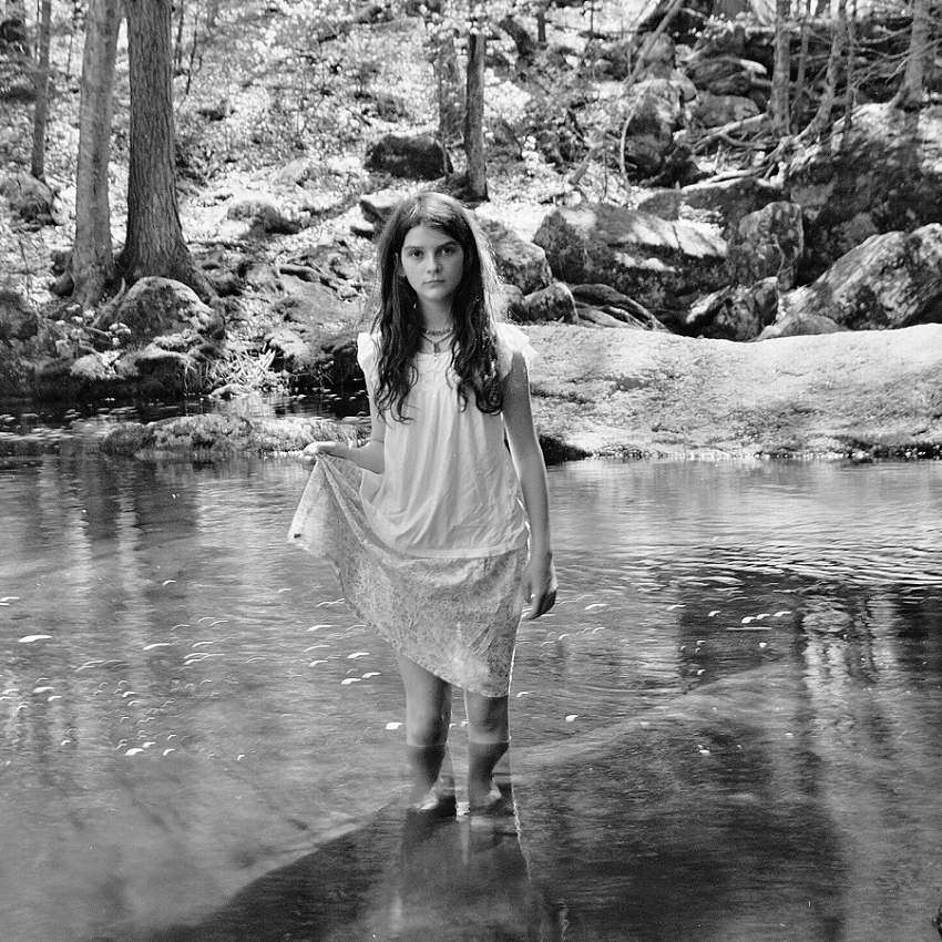 Phyllis_Meredith-On film At The Base Of The Falls, Burlington CT