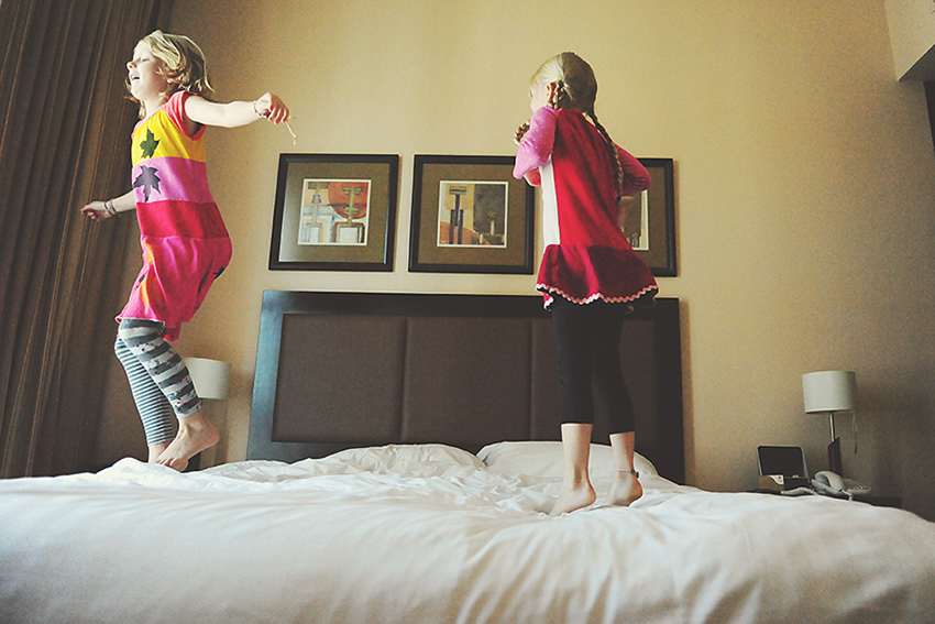 WYWH-Kirsty-Larmour-Week-43-hotel-bed-jumping-Abu-Dhabi