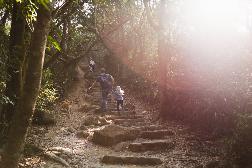 nicolaberry_family hike_Hong Kong