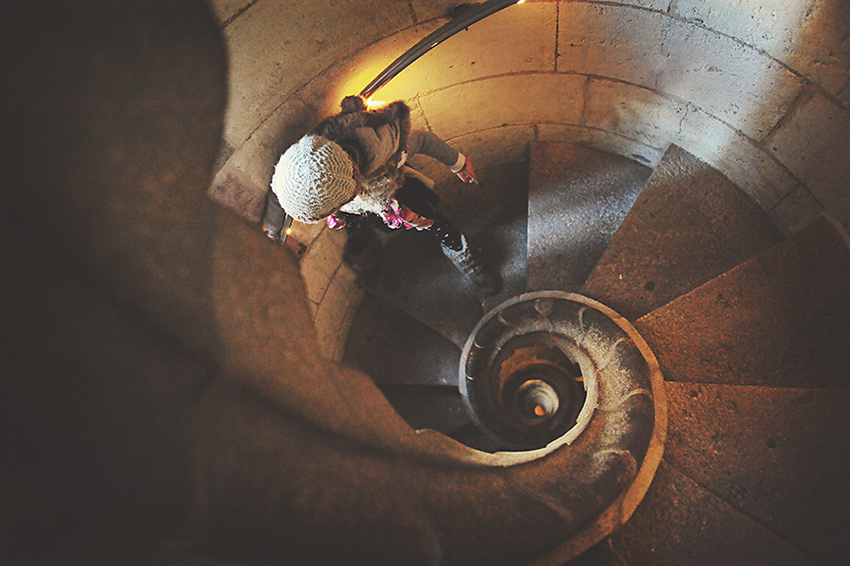 Kirsty-Larmour-Week05-spiral-staircase-Sagrada-Familiar-Barcelona