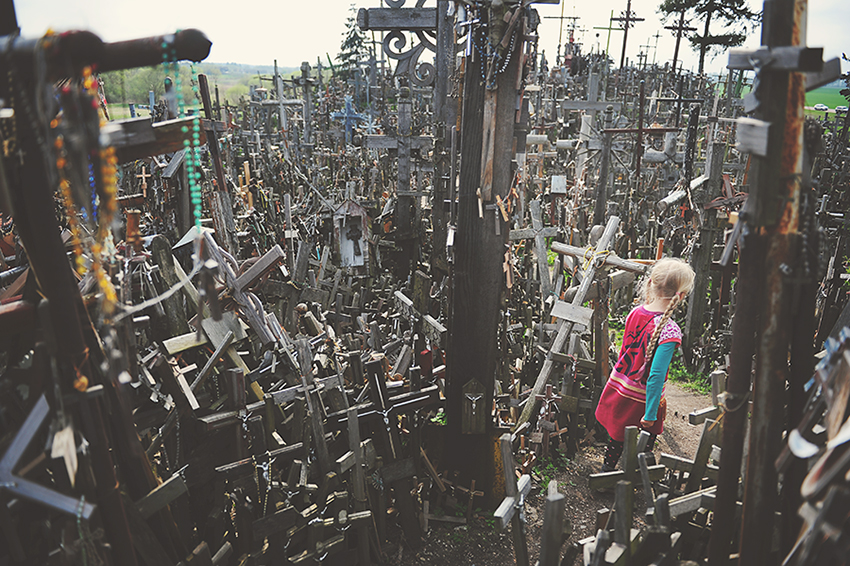 Kirsty Larmour Week 18 chaos_Hill of crosses_Lithuania