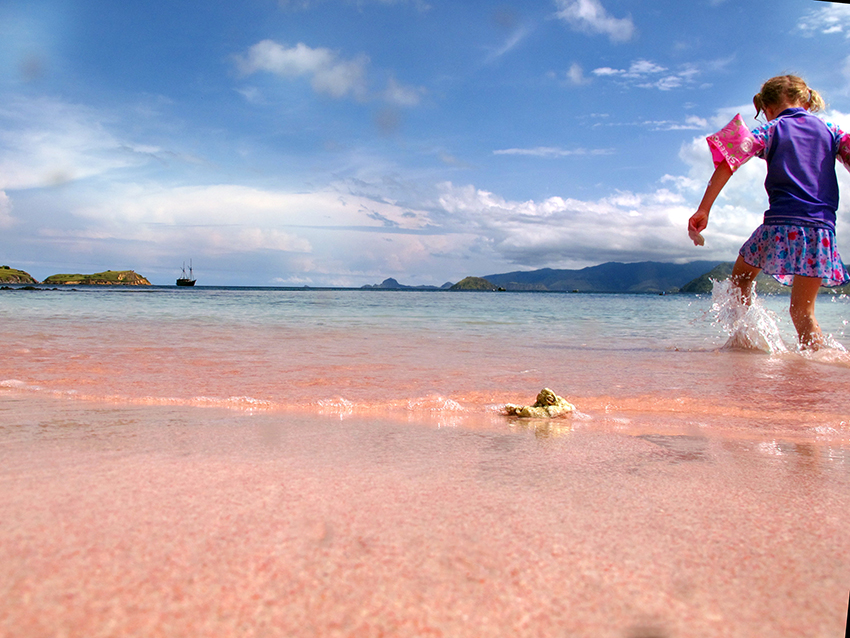 MeghanHof-Week19-PinkBeach-Indonesia