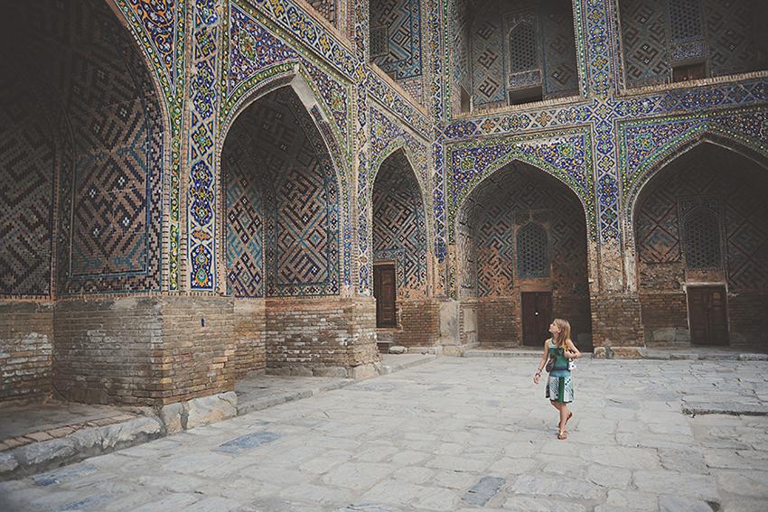 Overwhelmed, Samarkand Uzbekistan