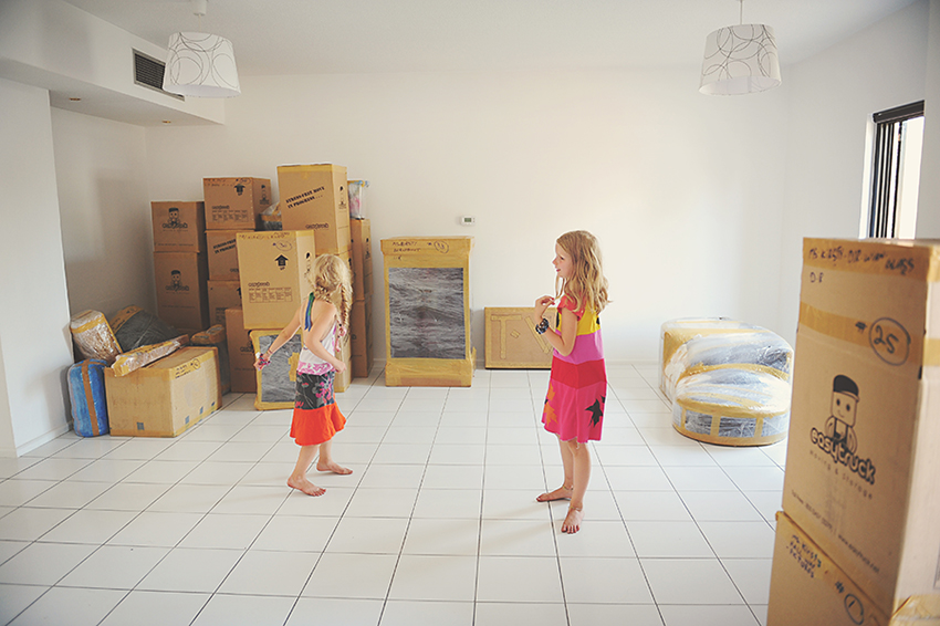 Kirsty Larmour Week 40_moving in_Abu Dhabi