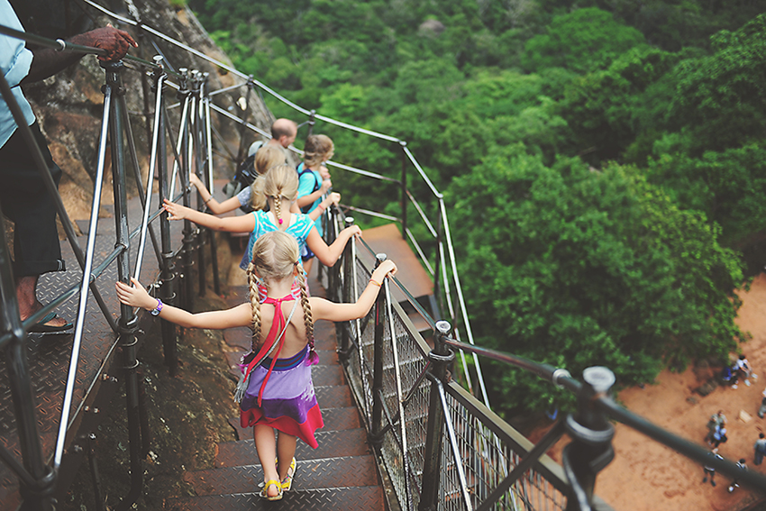 Kirsty Larmour_back down the rock_Sigiriya_Sri Lanka_Week 01