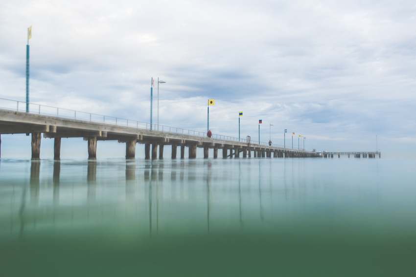 Early morning swim, Frankston Beach, Australia-Megan-Gardner-Wk7