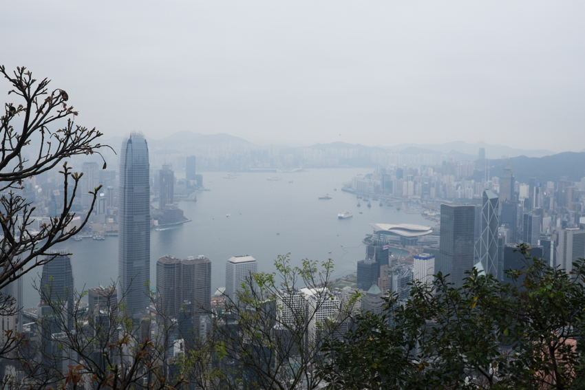 nicolaberry_The view from Lugard Road, Hong Kong