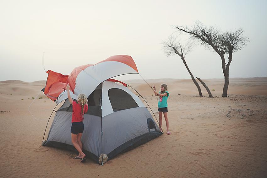 Kirsty Larmour_last camping trip_Abu Dhabi_Week 19