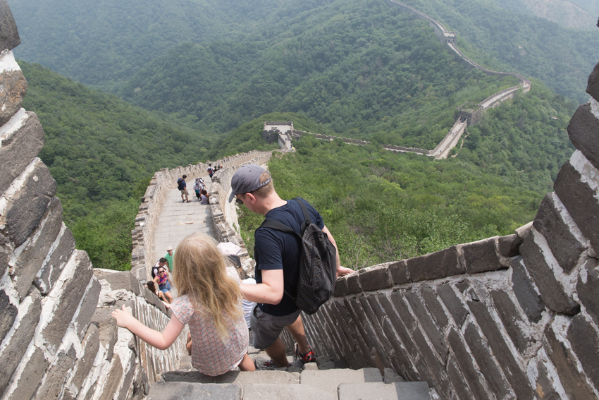 WYWH_nicolaberry_Hiking on the Great Wall_Mutianyu_China