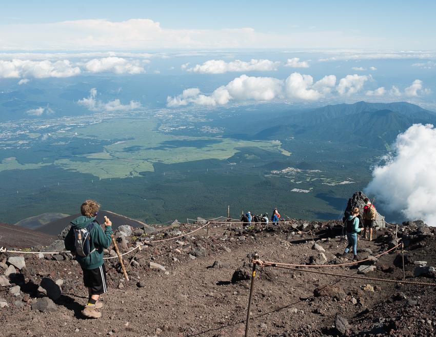 DebSchwedhelm-Mt Fuji Climb-Japan