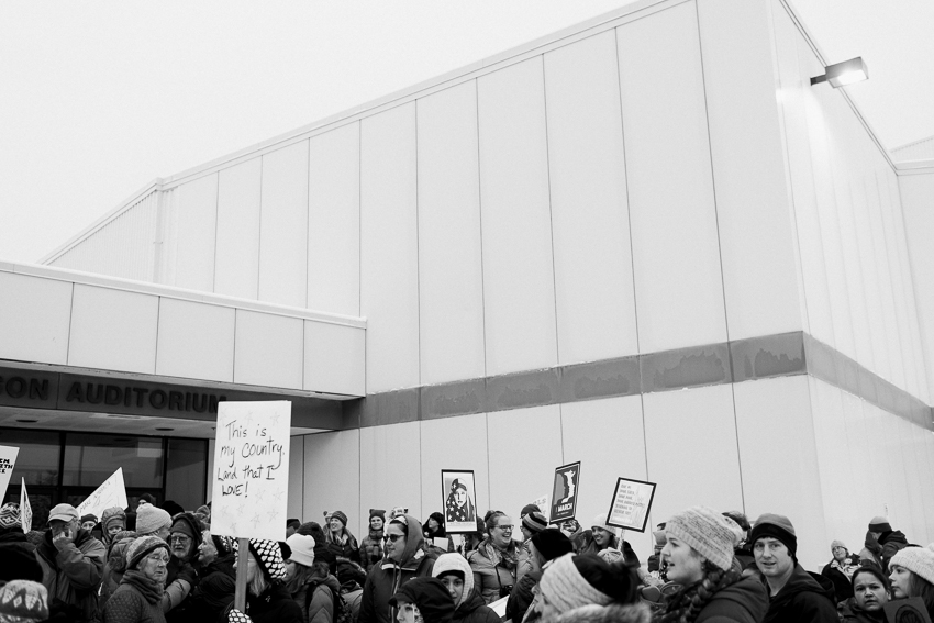womes march - kodiak alaska - breanna peterson