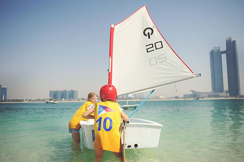 Kirsty Larmour_Sunny Sailing Days _Abu Dhabi_Week 16