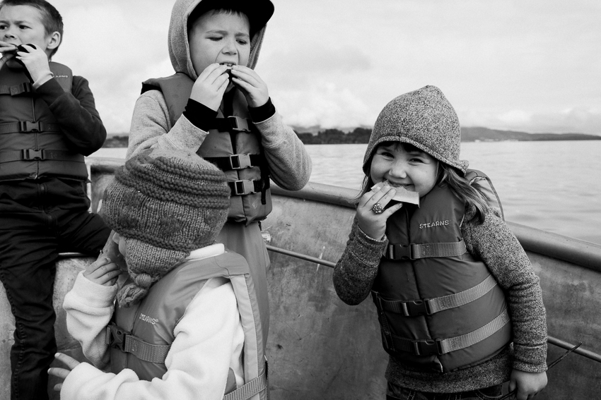 Breanna Peterson. boat snack. alaska-1