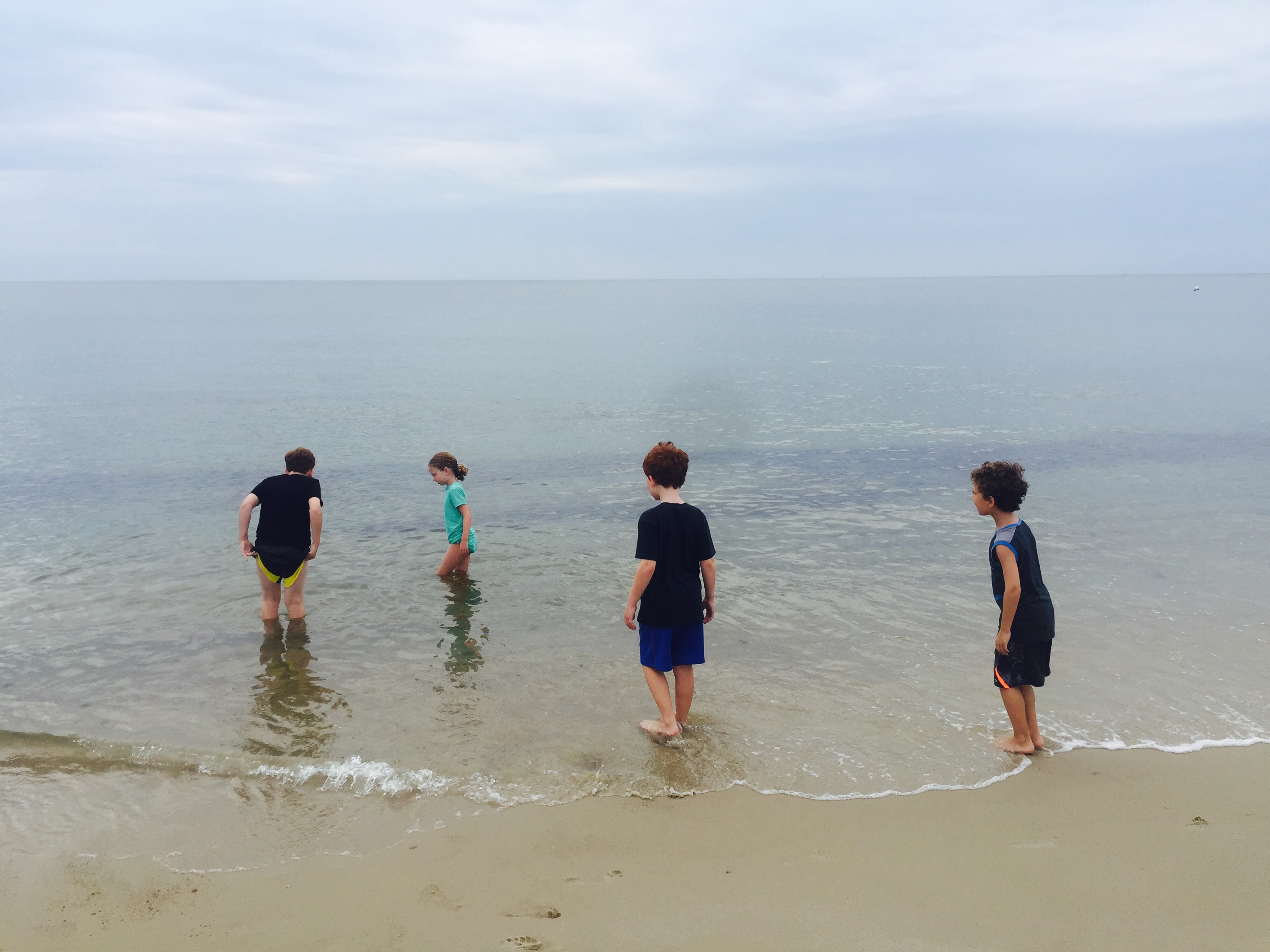 Jennifer Capozzola_Wading_Cape Cod_Massachusetts
