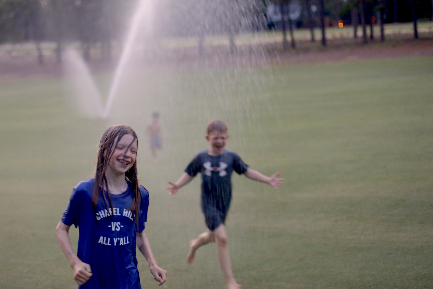 Kjarosz30_sprinklers at cousin camp_pinehurst_north carolina