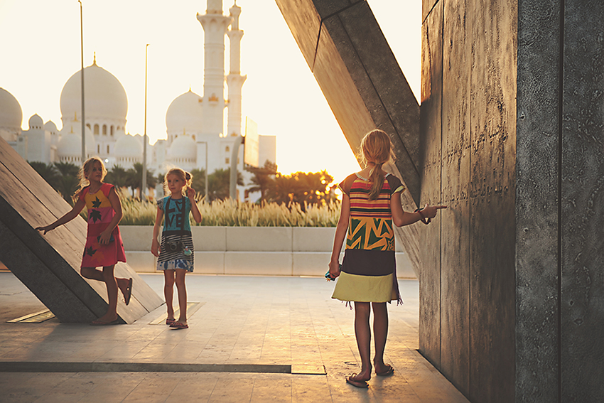 Kirsty Larmour_Mosque sunset_Abu Dhabi_week 42
