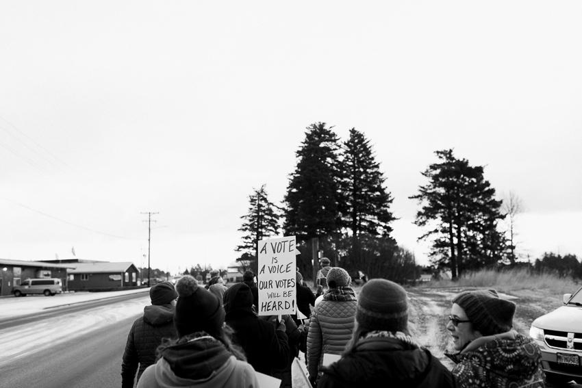 breanna peterson. 2018 womens march. kodiak, alaska-1